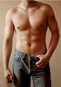 Как убрать жир с живота и боков у мужчин в домашних условиях